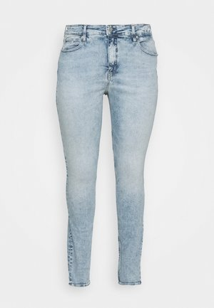 HIGH RISE - Jeans Skinny Fit - dark-blue denim