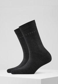 Esprit - BASIC EASY 2-PACK - Socks - black - 1