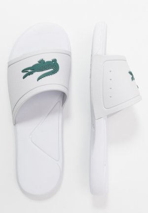 L.30 - Pool slides - white/green