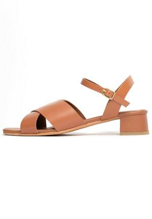ETHETE  - Sandals - camel