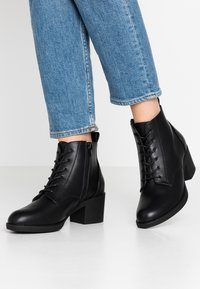 Anna Field - Kotníková obuv - black - 0