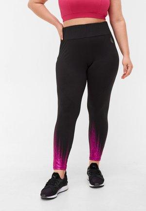 Leggings - Trousers - black color