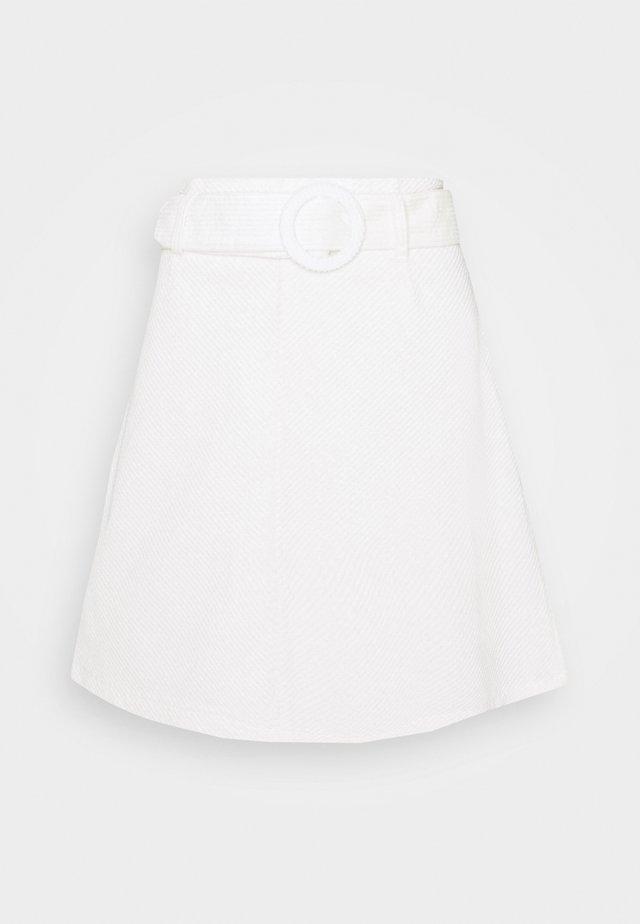 BYDANNA SKIRT  - A-linjekjol - offwhite