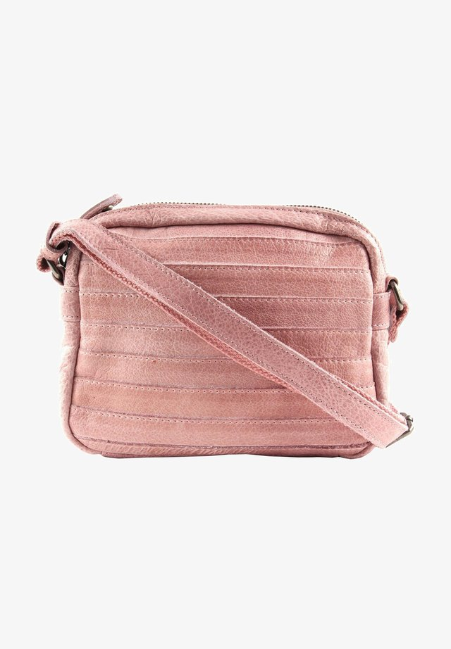 Across body bag - powder pink