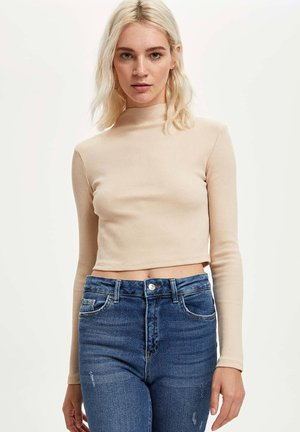 Long sleeved top - beige