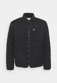 Tommy Jeans - QUILTED LINER JACKET - Giubbotto Bomber - black - 0