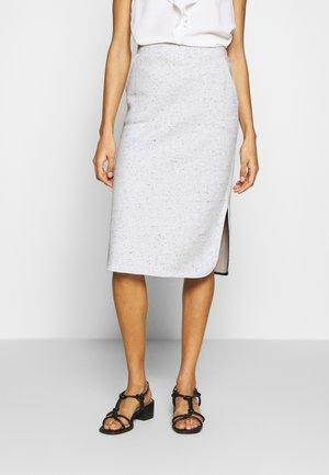 NEPPY SKIRT - Pencil skirt - light grey