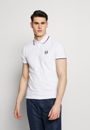 SERGIO 020 POLO - Polo shirt - white/vintage red