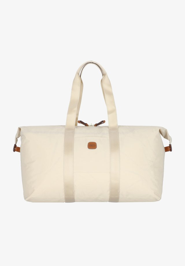 Holdall - beige-leather