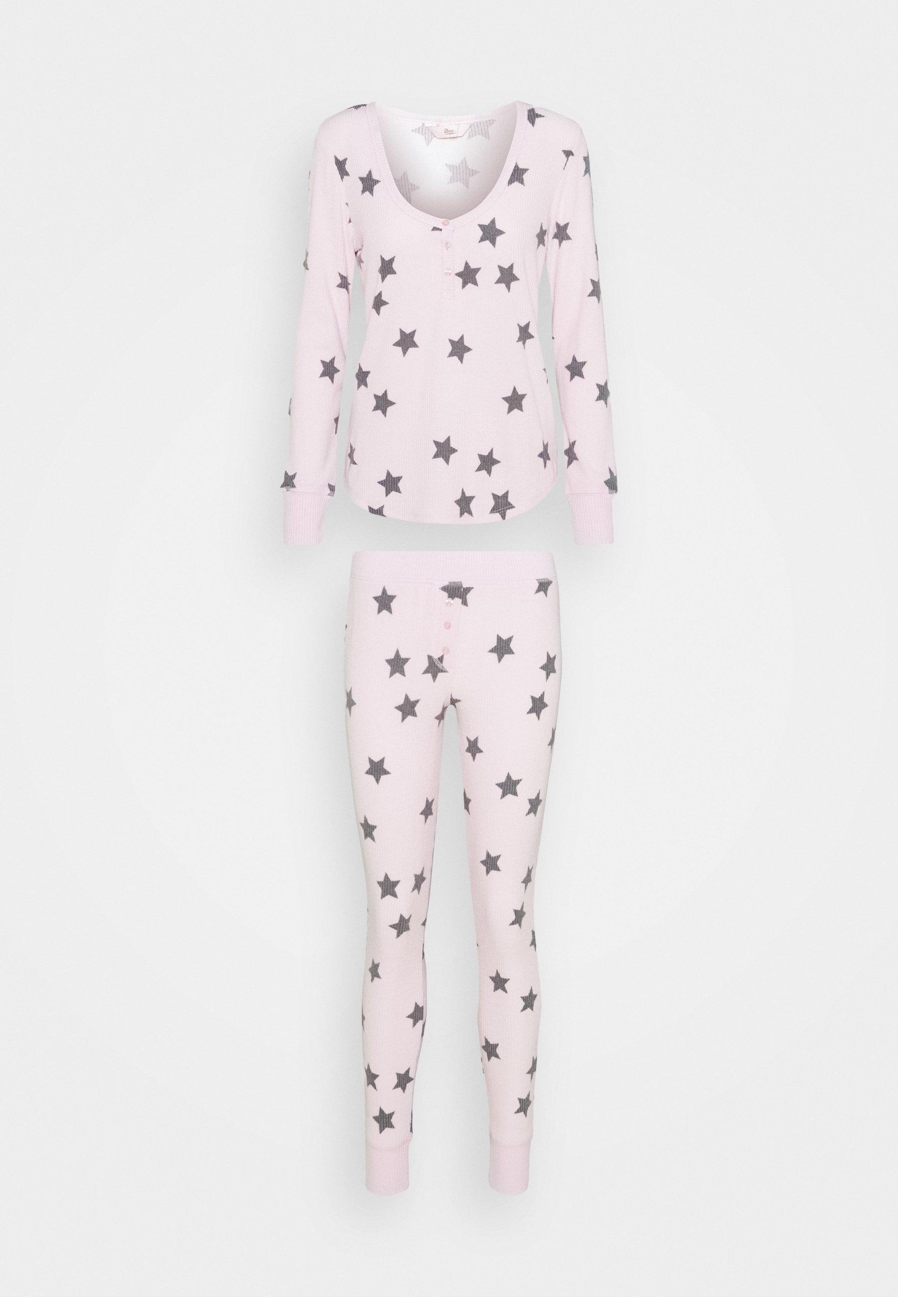 Women STAR PRINT HENLEY AND LEGGING SET - Pyjamas