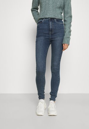 VMSANDRA  - Jeans Skinny Fit - medium blue denim