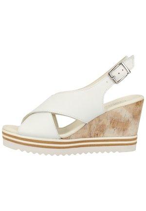 SANDALEN - Højhælede sandaletter / Højhælede sandaler - weiss 21