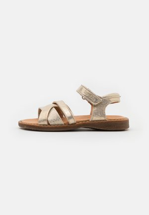 LORE N-STRAPS - Sandals - gold