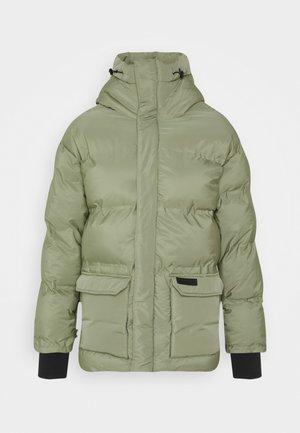 OVERSIZE STYLISH - Winter jacket - kaki