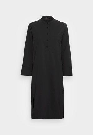 NOGALF LONG DRESS WOMAN - Shirt dress - black