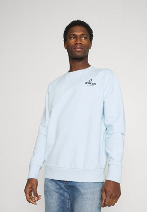 Sweater - bleached aque