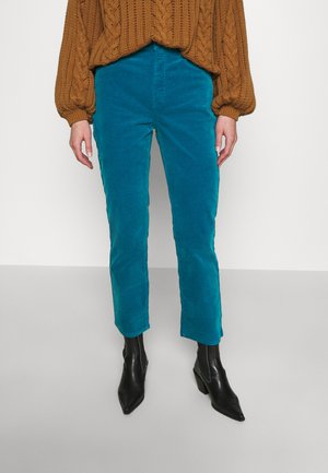 Trousers - blue turquoise