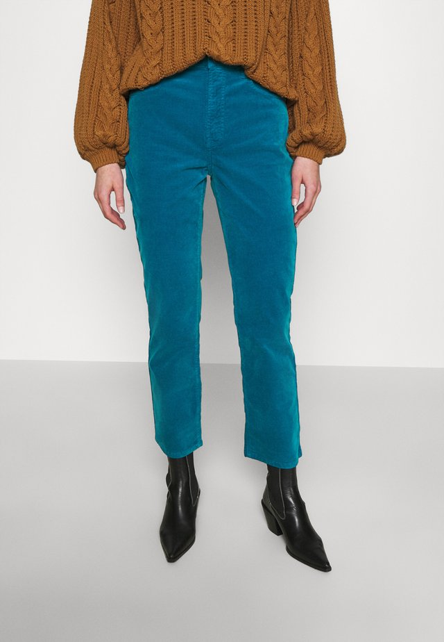 FRIDA - Trousers - blue turquoise