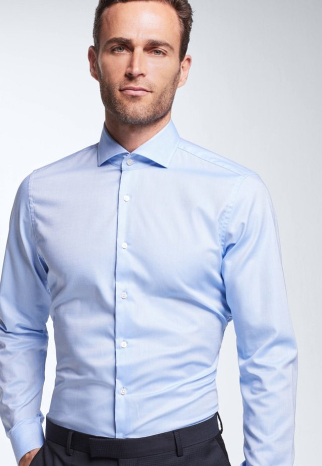 SERENO - Formal shirt - light blue