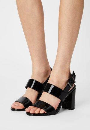 VEGAN ROMAINE - Sandals - black