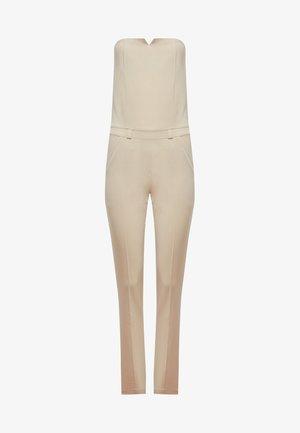 Tuta jumpsuit - beige