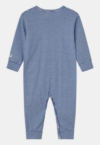 Petit Bateau - DORS BIEN SANS PIEDS - Pyjamas - white/dark blue - 1