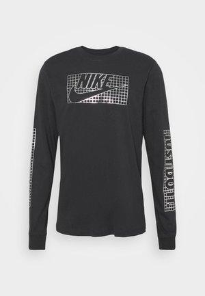 TEE FUTURA - Maglietta a manica lunga - black