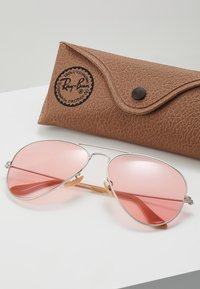 Ray-Ban - AVIATOR LARGE METAL - Sunglasses - silver-coloured