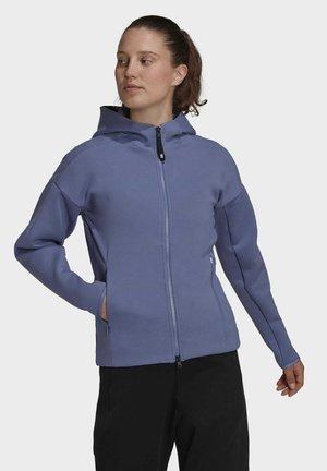 Zip-up sweatshirt - purple