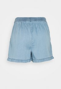 Vila - VILAJLA BISTA - Shorts - medium blue denim - 1