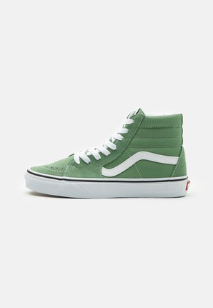 SK8 UNISEX - Høye joggesko - shale green/true white