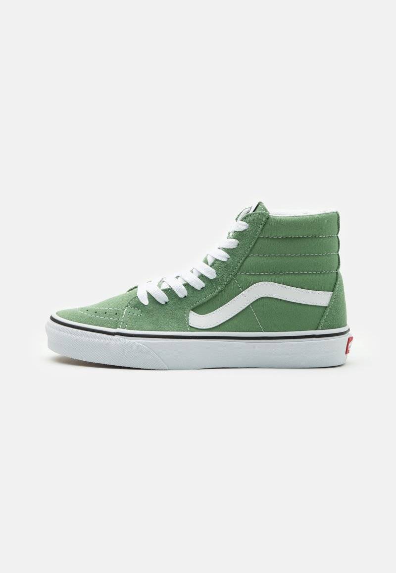 Vans - SK8-HI UNISEX - Vysoké tenisky - shale green/true white
