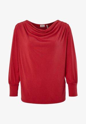 T-shirt à manches longues - bright red