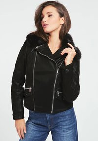 Guess - Giacca in similpelle - noir - 0