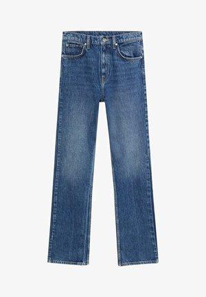 VINTAGE - Flared Jeans - dunkelblau