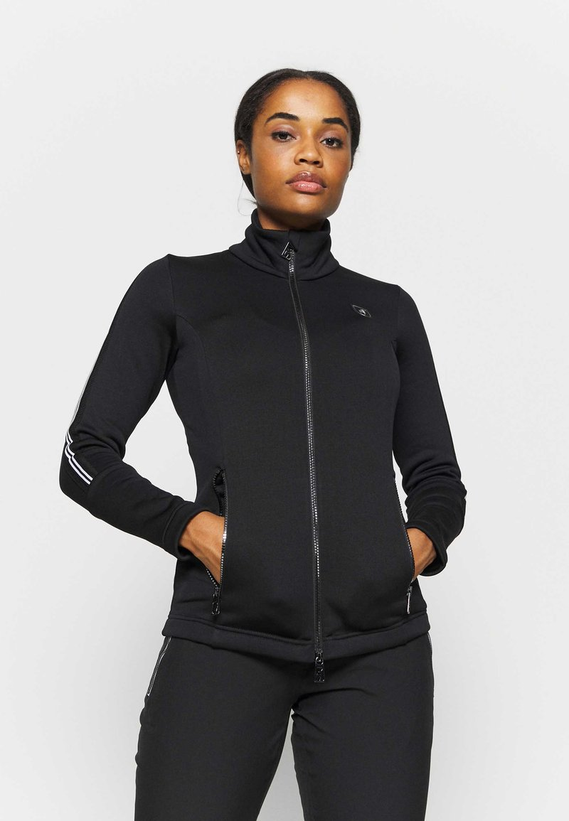 Toni Sailer - Fleece jacket - black