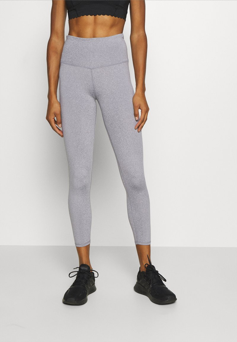 Cotton On Body - ACTIVE HIGH WAIST CORE 7/8 - Punčochy - mid grey marle
