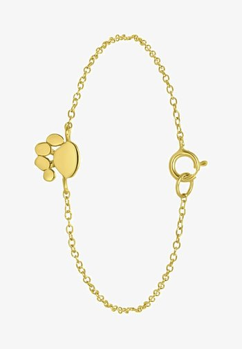MET HONDENPOOT - Bracelet - goud