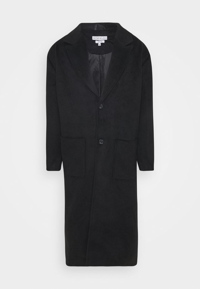 WATSON LONGLINE OVERCOAT - Cappotto classico - black