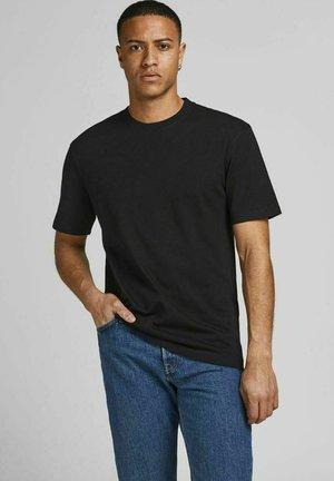 JJERELAXED TEE O-NECK - T-shirt - bas - black
