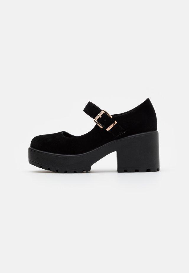 VEGAN - Platåsko - black