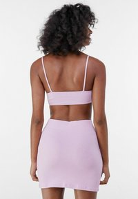 Bershka - Mini skirt - mauve - 2