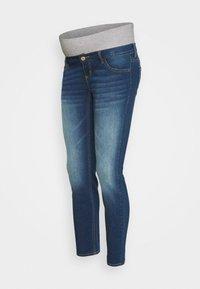 Pieces Maternity - PCMLILA - Jeans slim fit - dark blue denim - 4