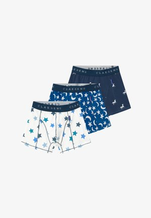 BOYS BOXER  3 PACK - Pants - blue