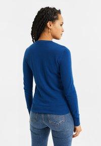 WE Fashion - Chaqueta de punto - navy blue - 2