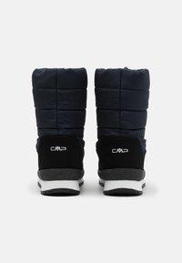 CMP - KIDS RAE WP UNISEX - Winter boots - black blue - 2