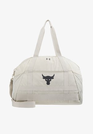 PROJECT ROCK GYM BAG - Sportovní taška - summit white/pitch gray