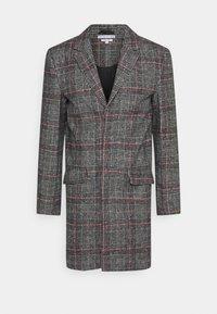 Another Influence - EVERETT CHECK OVERCOAT - Short coat - grey - 3