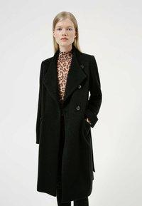 HUGO - MILEA - Classic coat - black - 3