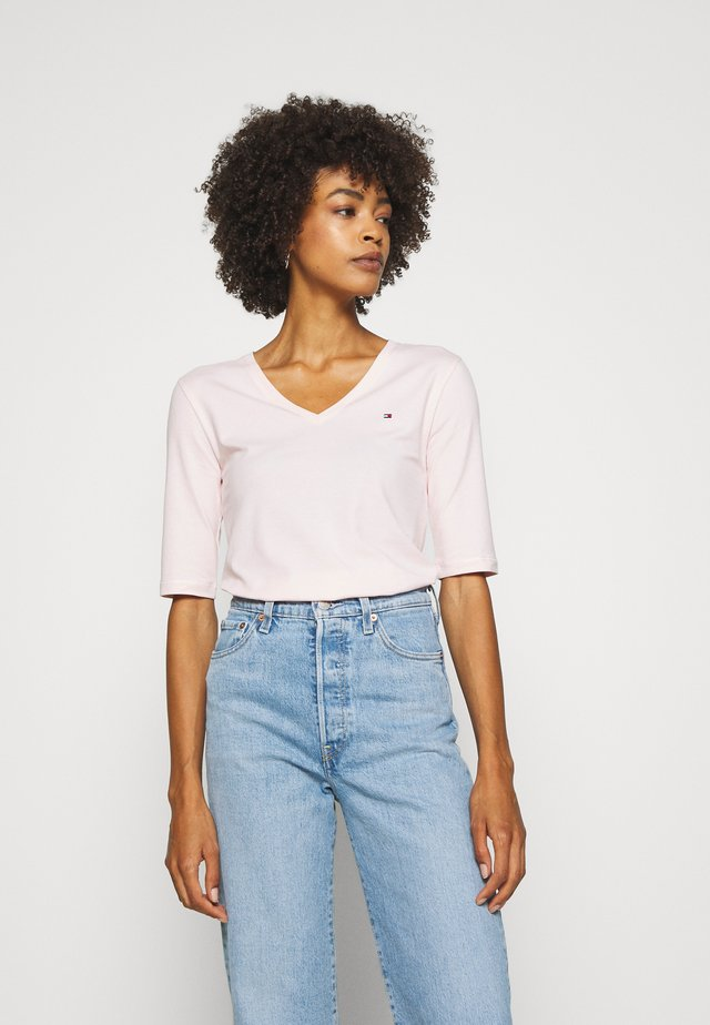 T-shirt basic - faded coral